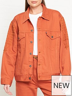 levis-made-crafted-oversized-type-iii-truckernbsp--orange