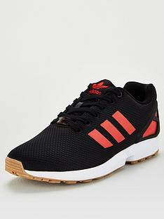 adidas-originals-zx-flux-blackwhitered