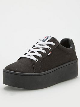 tommy-jeans-flatform-trainer-black