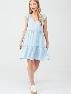 superdry-tinsley-tiered-dress-light-blue