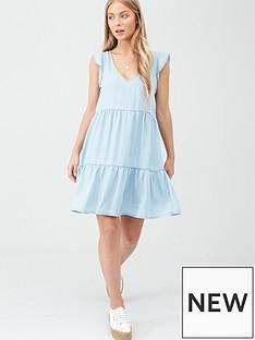 superdry-tinsley-tiered-dress-light-blue
