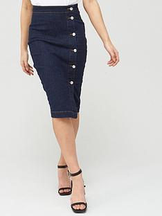 v-by-very-midi-denim-skirt-indigo