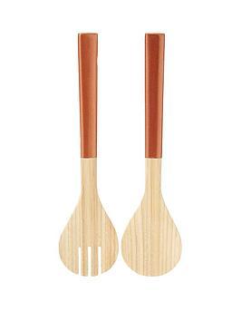 premier-housewares-kyoto-metallic-bamboo-salad-servers-ndash-rose-gold
