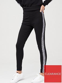 v-by-very-snake-slouch-co-ord-legging-black