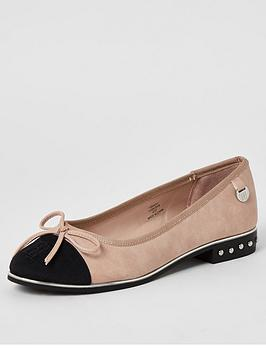 river-island-river-island-bow-front-ballet-shoe-pink