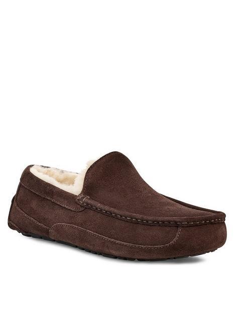 ugg-ascot-suede-slipper-brown