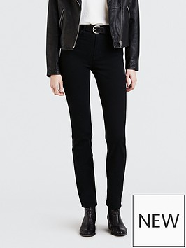 levis-724-high-rise-straight-jeans-black
