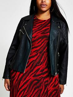 ri-plus-pu-quilted-biker-jacket-black