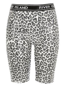 river-island-girls-leopard-print-cycling-shorts-silver
