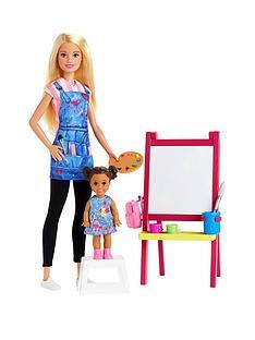 barbie-art-teacher