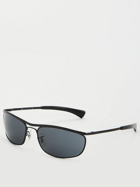 ray-ban-oval-lens-0rb3119m-sunglasses-black