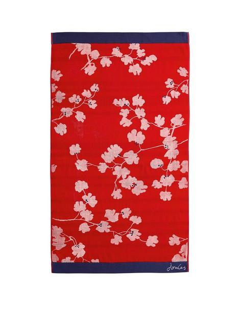 joules-penzance-floral-combed-cotton-towel