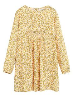 mango-girls-floral-print-swing-dress-yellow