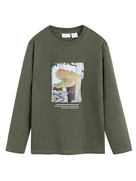 mango-boys-long-sleeve-dinosaur-t-shirt-khaki