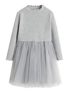 mango-girls-tulle-skirt-jersey-dresses-grey