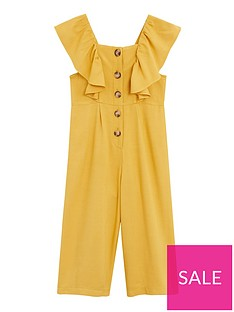 mango-girls-ruffle-button-front-jumpsuit-yellow