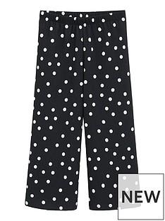 mango-girls-spot-jersey-co-ord-trousers-black