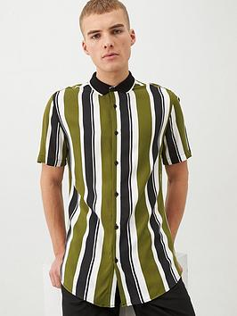 river-island-ss-stripe-rib-collar-shirt