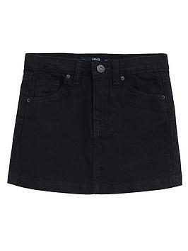 mango-girls-denim-skirt-black