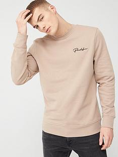 river-island-logo-crew-neck-sweatshirt-stonenbsp