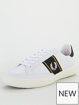fred-perry-b3-mens-trainers-white