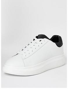 river-island-white-chunky-sole-lace-up-trainers