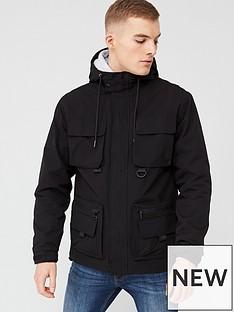 river-island-black-hooded-pocket-front-utility-jacket
