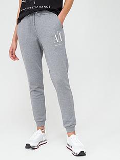 armani-exchange-logo-jog-pants-grey