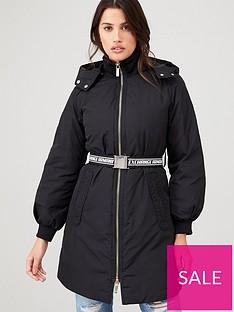 armani-exchange-caban-coat-with-belt-black