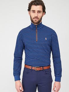 polo-ralph-lauren-golf-golf-long-sleeve-half-zip-knit-blue
