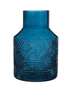 premier-housewares-complements-dakota-blue-glass-vasenbsp