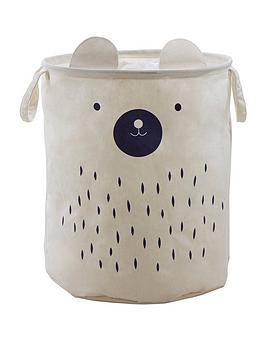 premier-housewares-mimo-bear-face-storage-bag