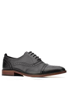 base-london-cast-lace-up-brogues-black