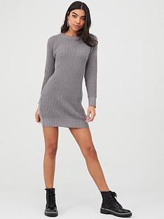 boohoo-boohoo-soft-knit-jumper-dress-smoke