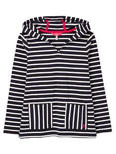 joules-girls-astbury-stripe-hoodie-navywhite