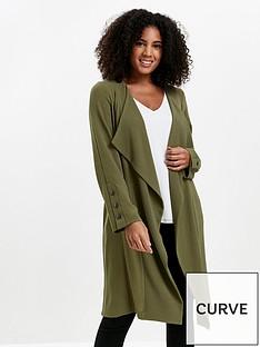 evans-longline-jacket-khaki