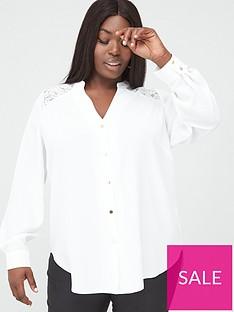 v-by-very-curve-lace-insert-blouse-ivory