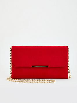 v-by-very-clutch-bag-with-chain-strap-red