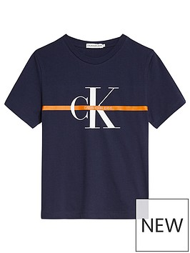 calvin-klein-jeans-boys-monogram-stripe-short-sleeve-t-shirt-navy