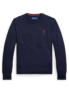 ralph-lauren-boys-classic-knitted-crew-jumper-navy