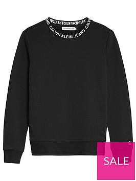 calvin-klein-jeans-boys-intarsia-crew-neck-sweat-top-black