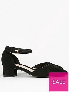 evans-extra-wide-fit-two-part-court-shoe-black