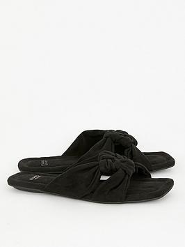 evans-extra-wide-fit-noko-square-toe-sandals-black
