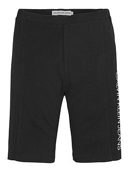 calvin-klein-jeans-girls-cycling-shorts-black