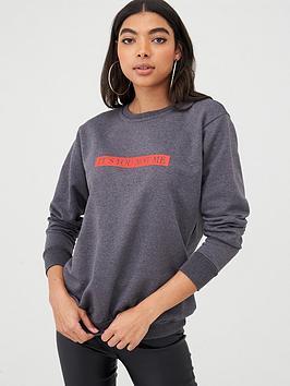 boohoo-boohoo-its-you-not-me-oversized-sweater-charcoal