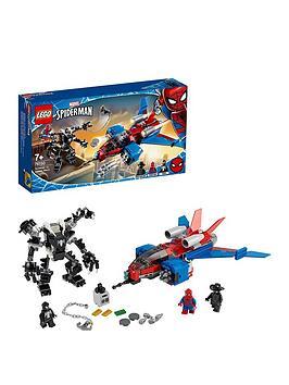 Lego Super Heroes 76150 Marvel Spider-Man Jet Vs. Venom Mech
