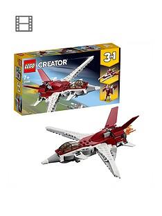 lego-creator-31086-futuristic-flyer-plane-spaceship-or-robot