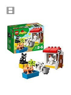lego-duplo-10870-farm-animals-with-black-cat-figure