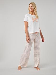 boux-avenue-love-tee-amp-heart-pyjama-pants-greymix