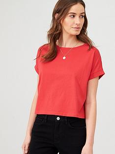 v-by-very-boxy-t-shirt-red